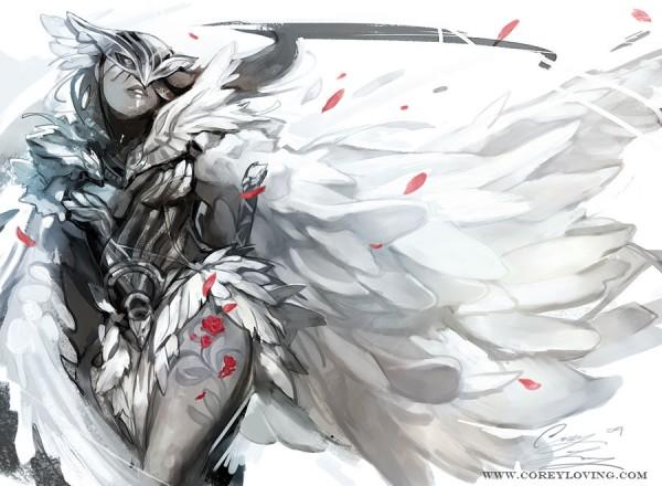 HawkQueenSketch